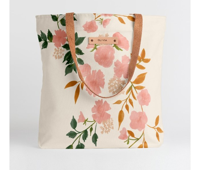 Minted. Snap Tote