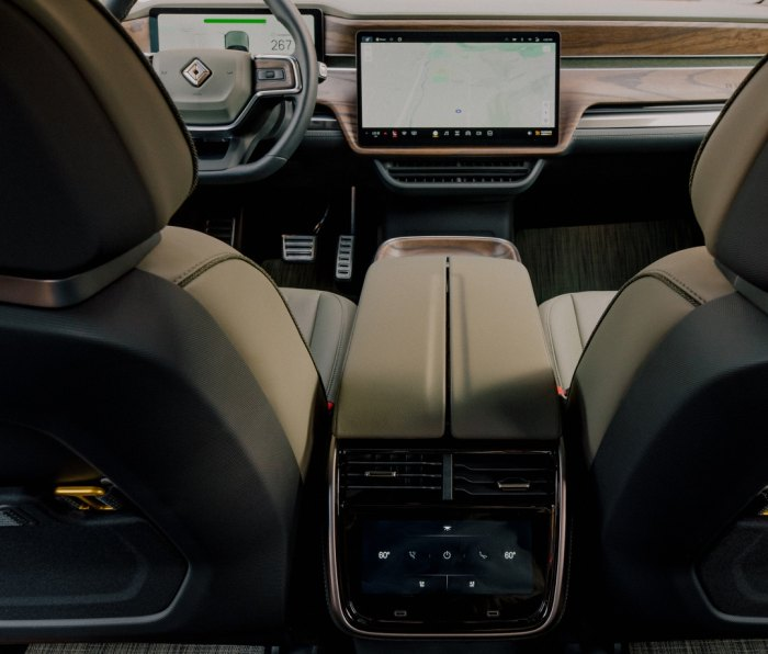 Driving the Rivian RT1, an electric adventure vehicle that conquers off-road terrain and rips on the road.