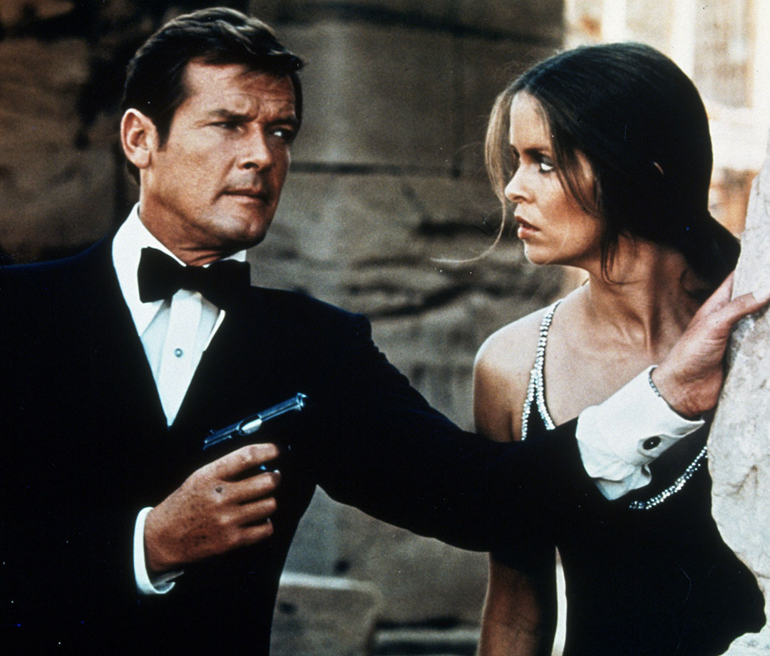 Barbara Bach and Curt Jürgens in 'The Spy Who Loved Me'