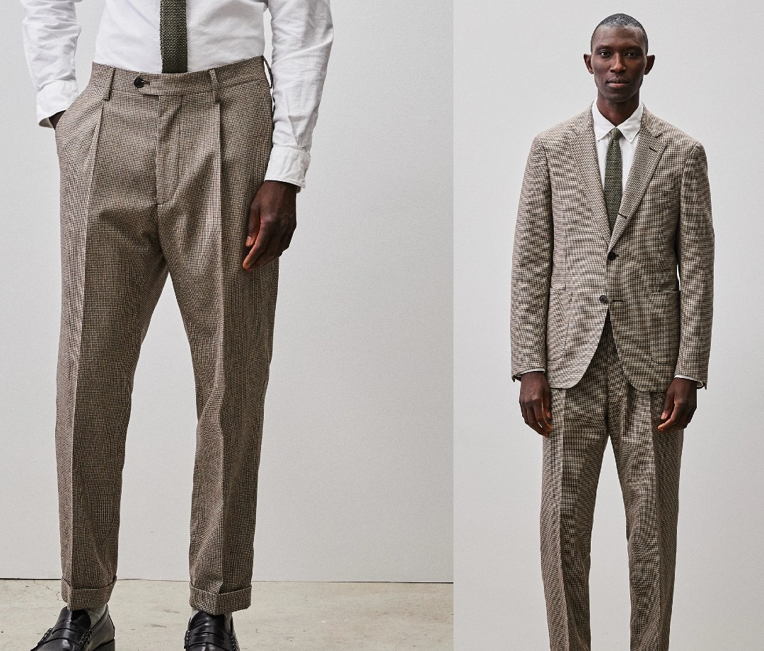 Todd Snyder Italian Houndstooth Madison Suit