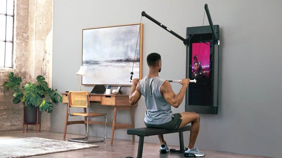 Tonal's slick home gym in a mirror adds a new interactive mode.