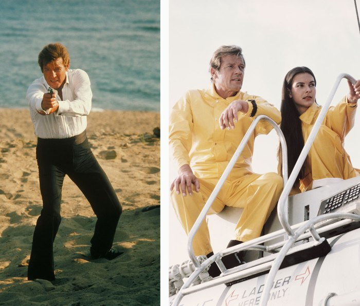 Roger Moore and French actress Carole Bouquet in 'For Your Eyes Only'