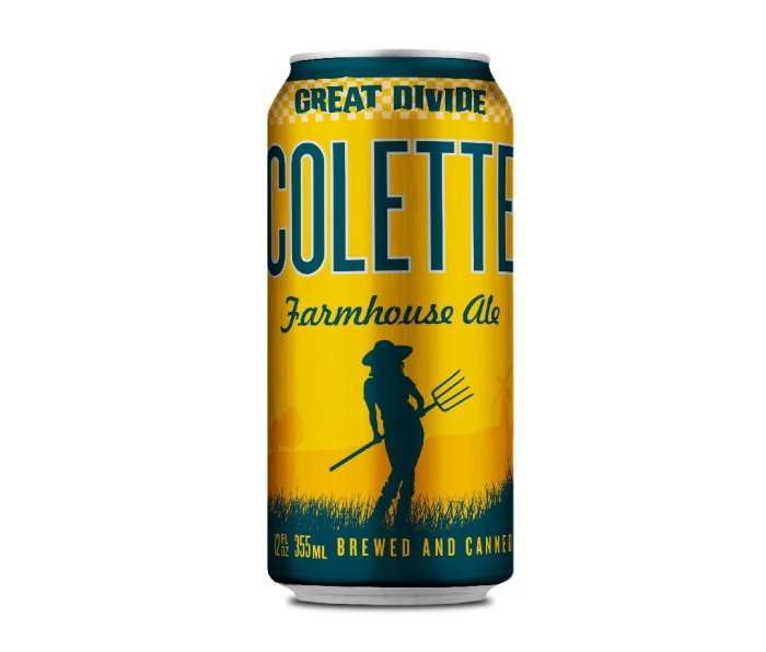 Can of Great Divide Colette beer