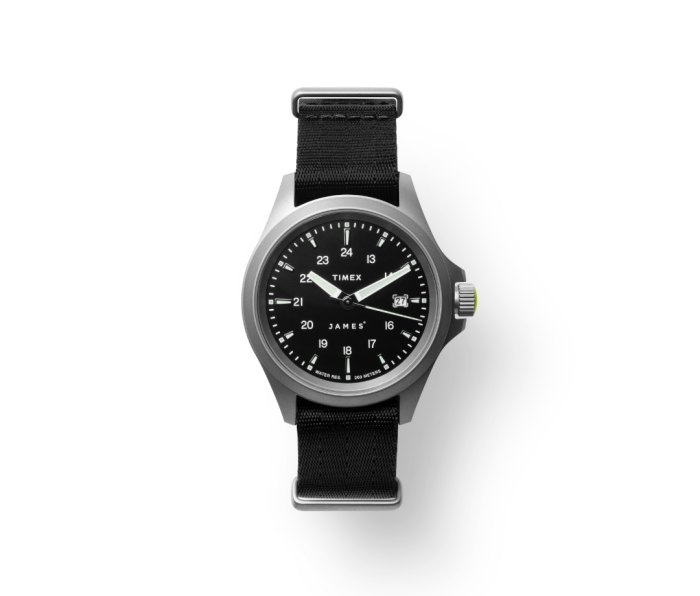 Timex x The James Brand Expedition North Titanium Watch
