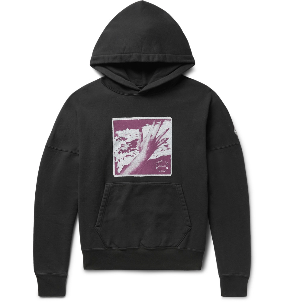 33a012e8b Cav Empt Signal Process Loopback Cotton-Jersey Hoodie,