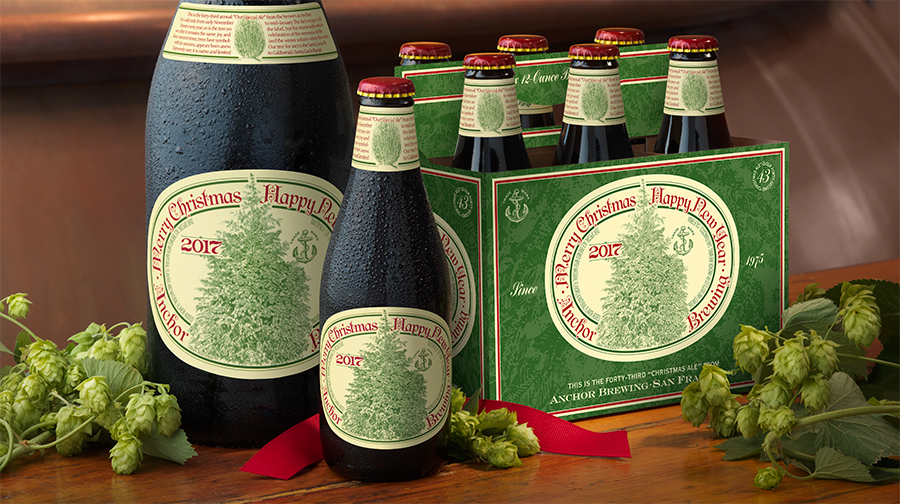 Anchor brewing christmas beer gift
