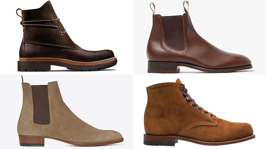 Fall's Best Men's Boots, From Dress to