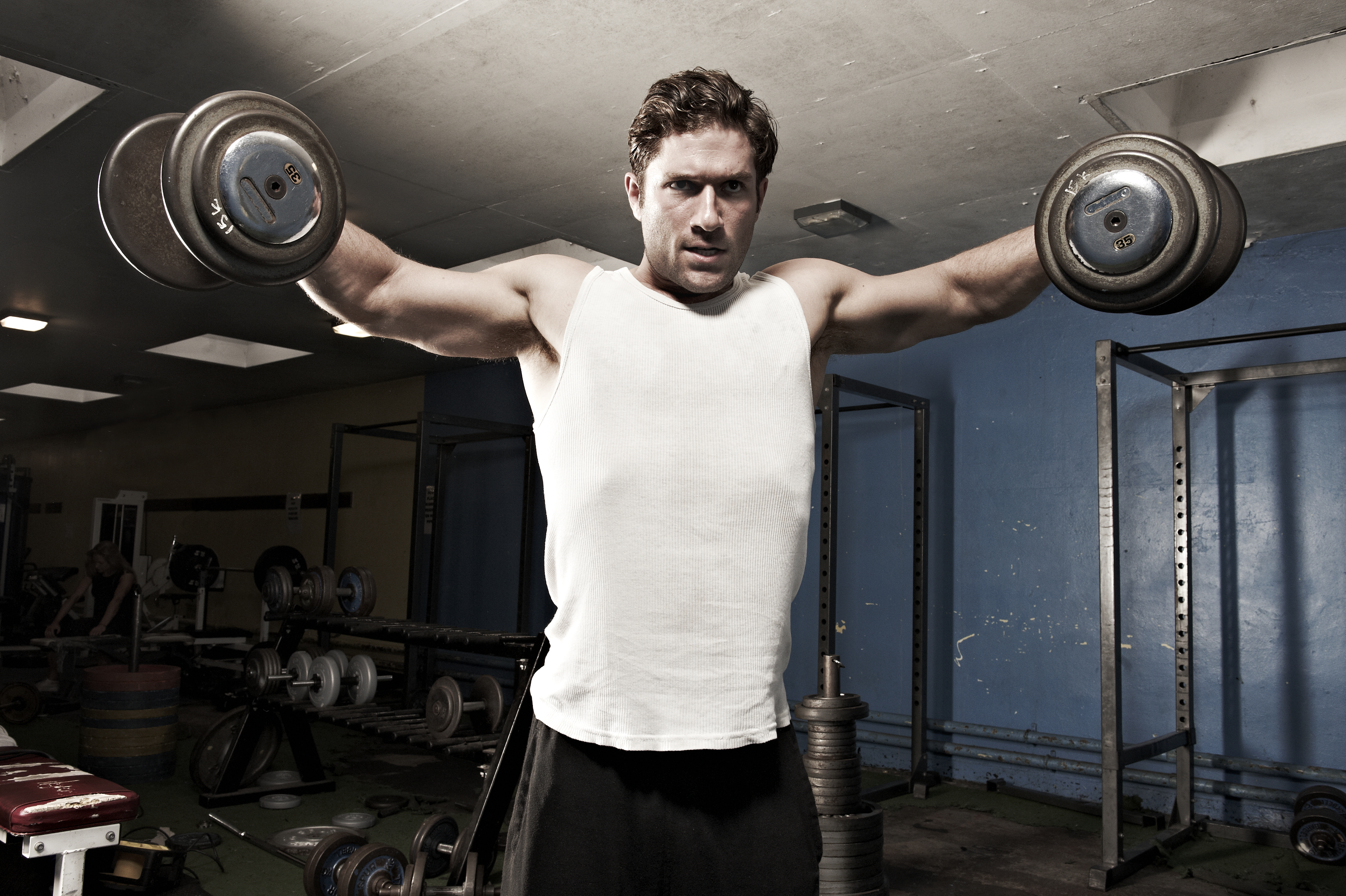 Get Bigger Shoulders: The Only 5 Moves You Need