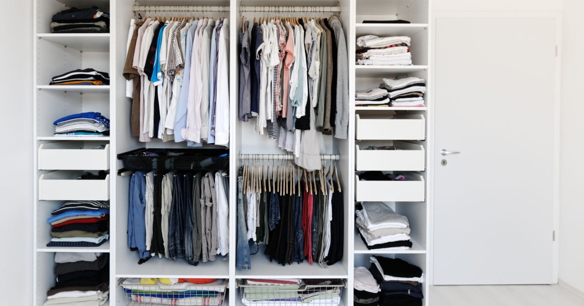 Your Closet's a Mess: Here's How to Fix It