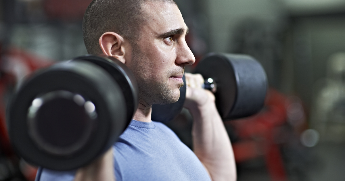The Most Effective, Least Boring Dumbbell Workout We've Tried