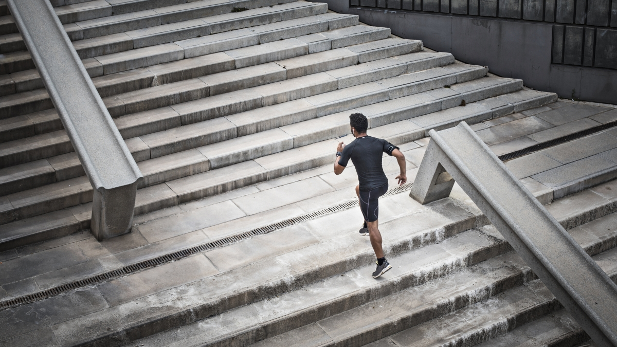 The 20-Minute Stair Workout You Can Do Anywhere