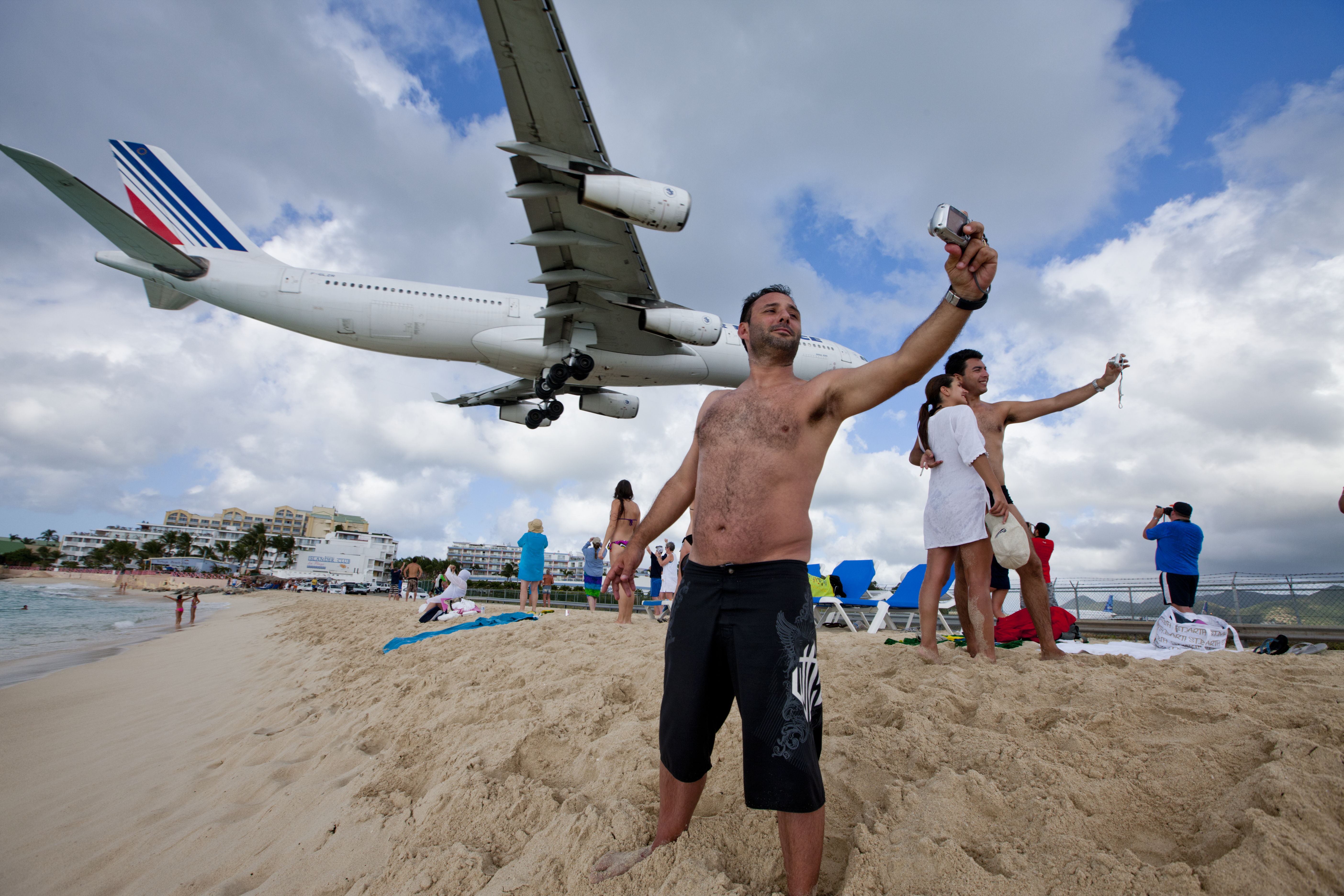 Going to Maho Beach? Please Step Away from the Runway