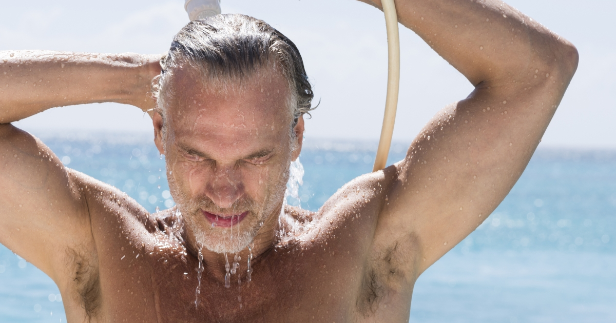 Get Rid Of Grey Hair While You Shower Mens Journal