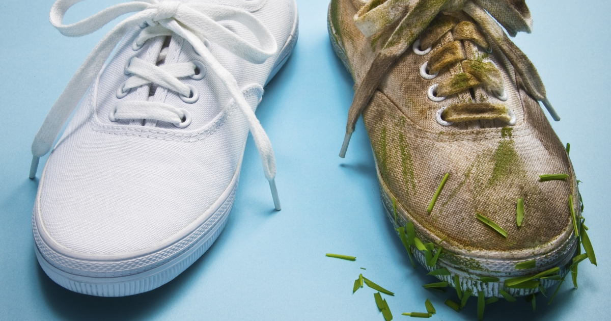 fdd20f31d1c811 How to Clean Your Old Sneakers - Men s Journal