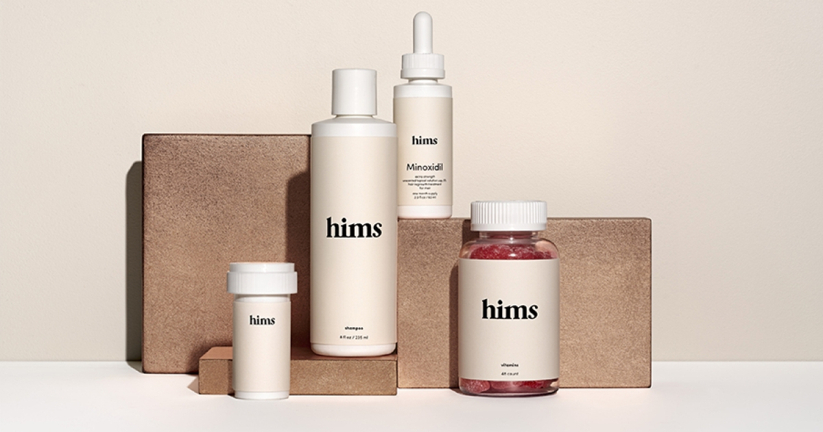 Hims, the Affordable New Grooming Brand Fighting Hair Loss