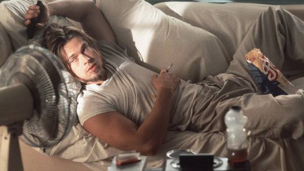 Brad Pitt as the sloth Floyd in 'True Romance.'