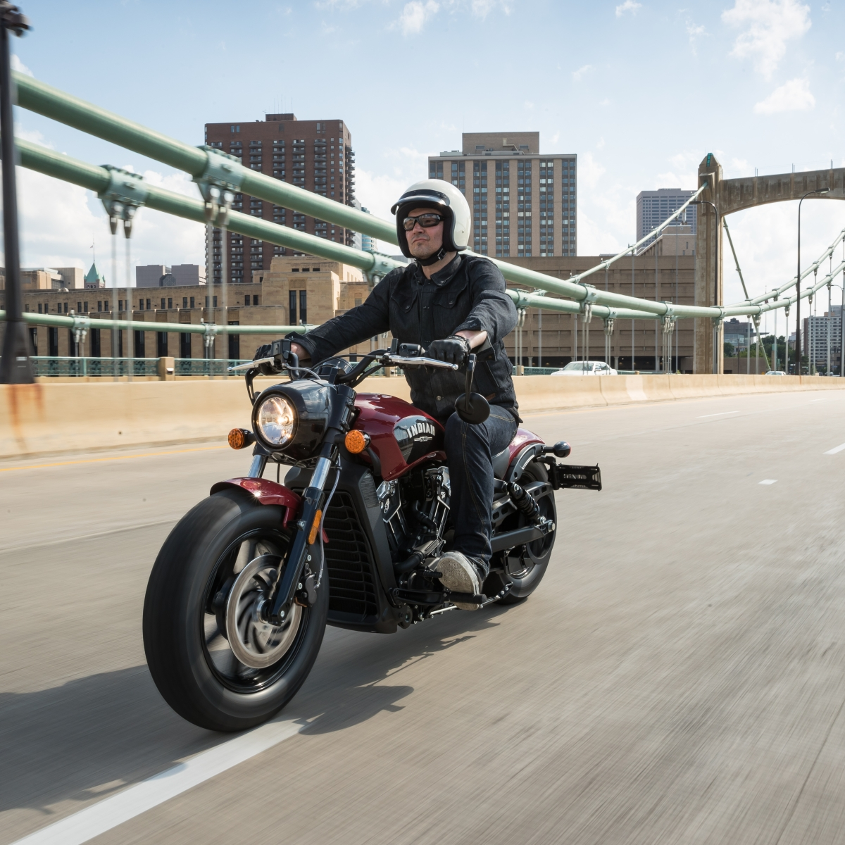 100 Miles on the 2018 Indian Scout Bobber Motorcycle - Men's