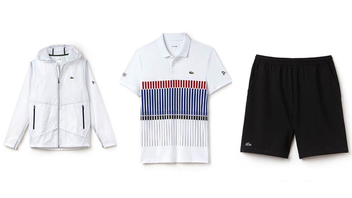 d78de0758c6 Lacoste Launches Novak Djokovic Line With Three Items He ll Wear at This  Year s French Open - Men s Journal