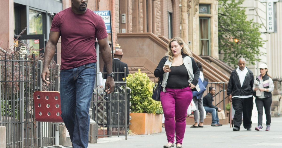 How Mike Colter Got Ripped for 'Luke Cage' - Men's Journal