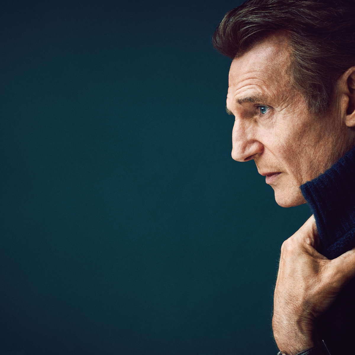 a8f5fdaaf The Long Game of Liam Neeson - Liam Neeson Interview - Men's Journal