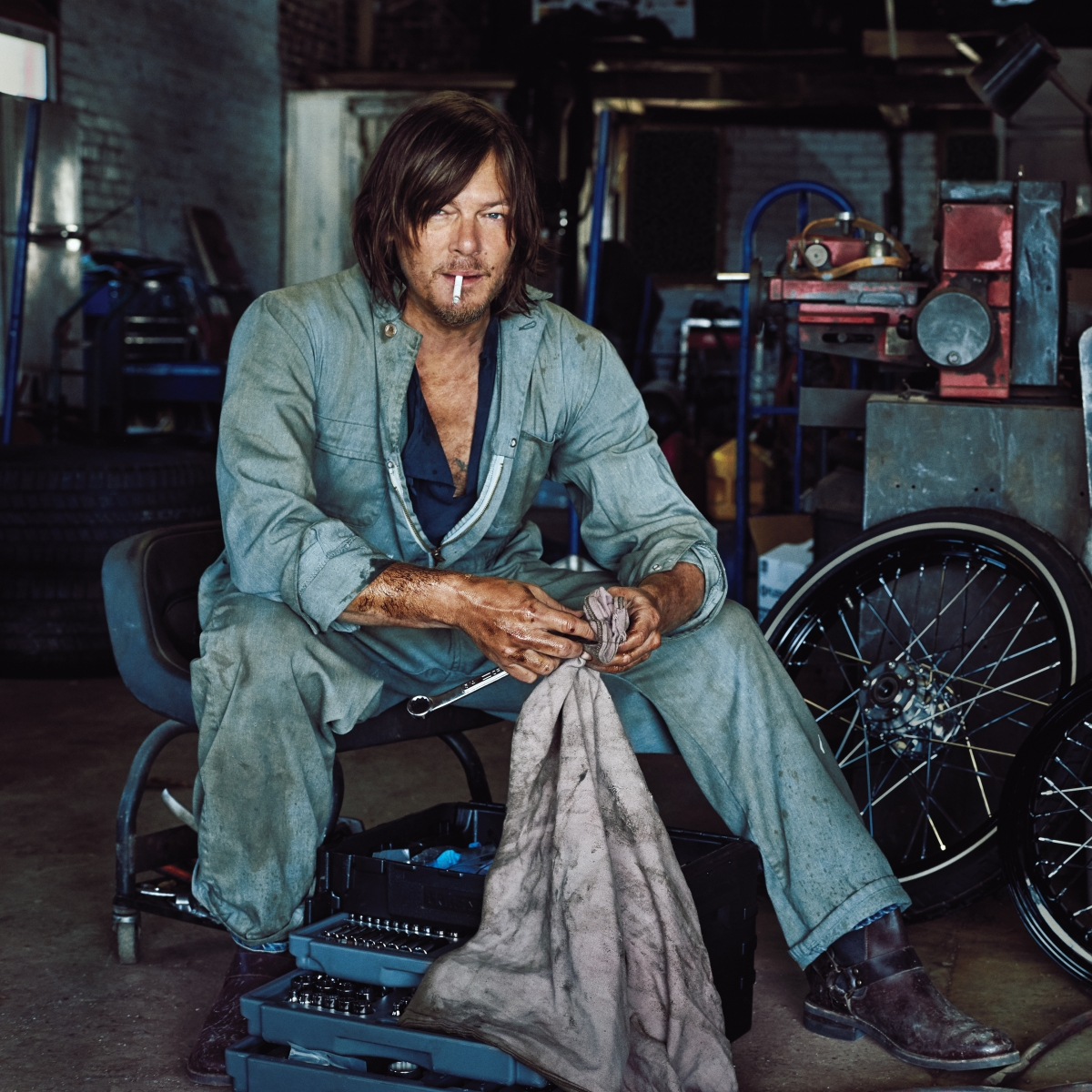 Norman Reedus Profile The Wild One Men S Journal