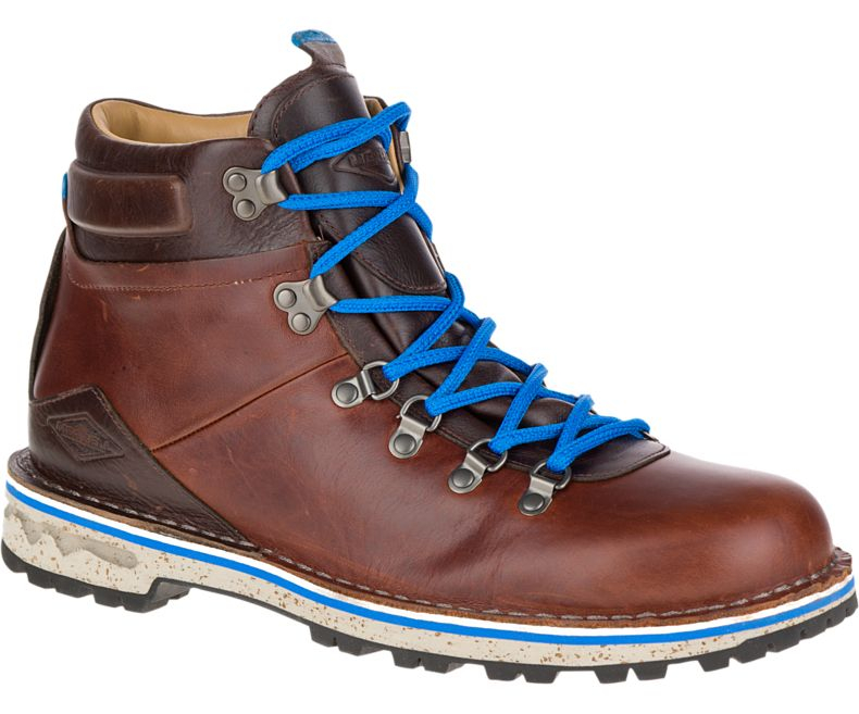 old style hiking boots