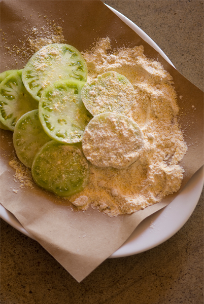 8. Southern Fried Green or Yellow Tomatoes