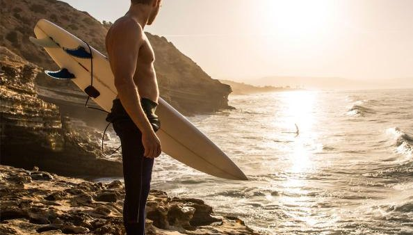 Surfing For Fitness and Happiness