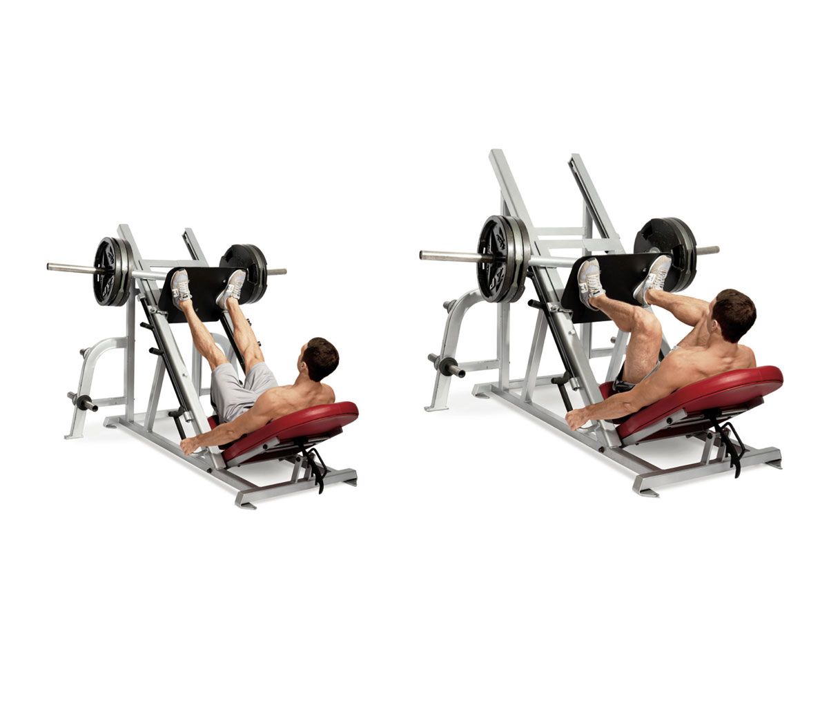 Machine exercises for strength and muscle growth