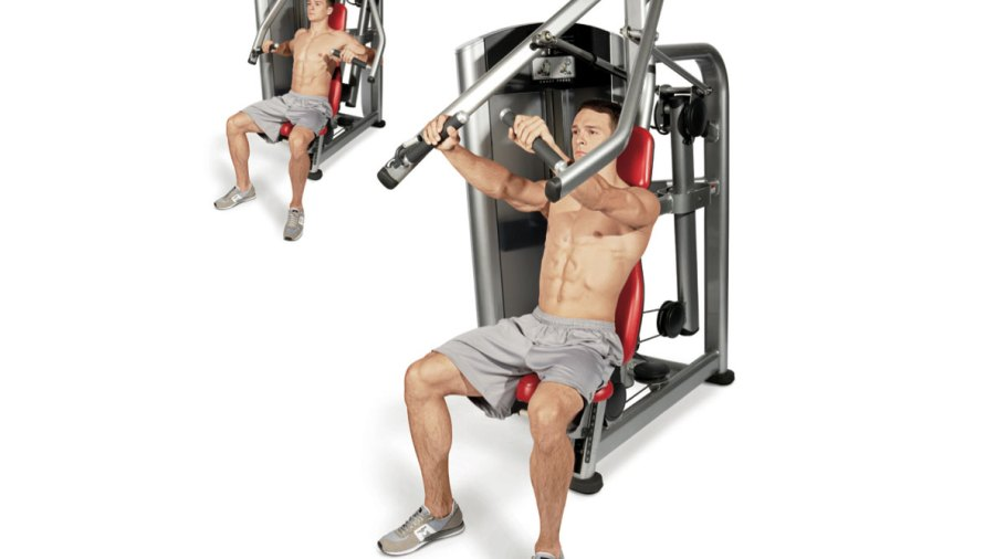 Gym machine exercises for muscle growth