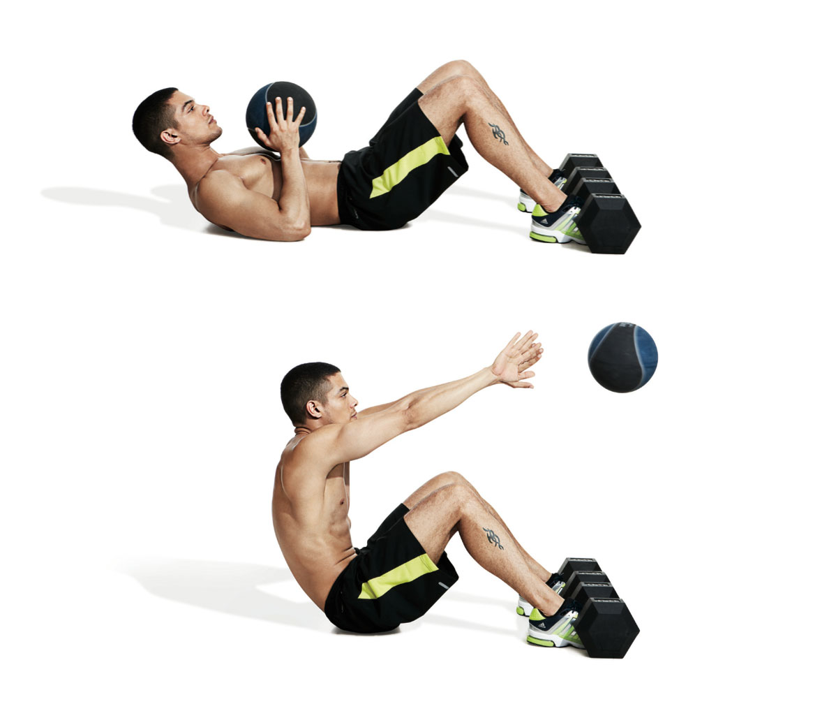 Medicine Ball Full Body Workout