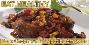 Pork Chops With Chipotle Tomatoes