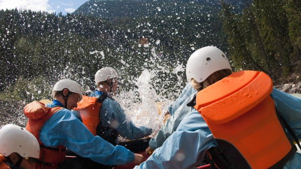 Best whitewater-rafting spots in the U.S.