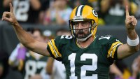 Aaron Rodgers grew a mustache that has everyone saying Hail Marys