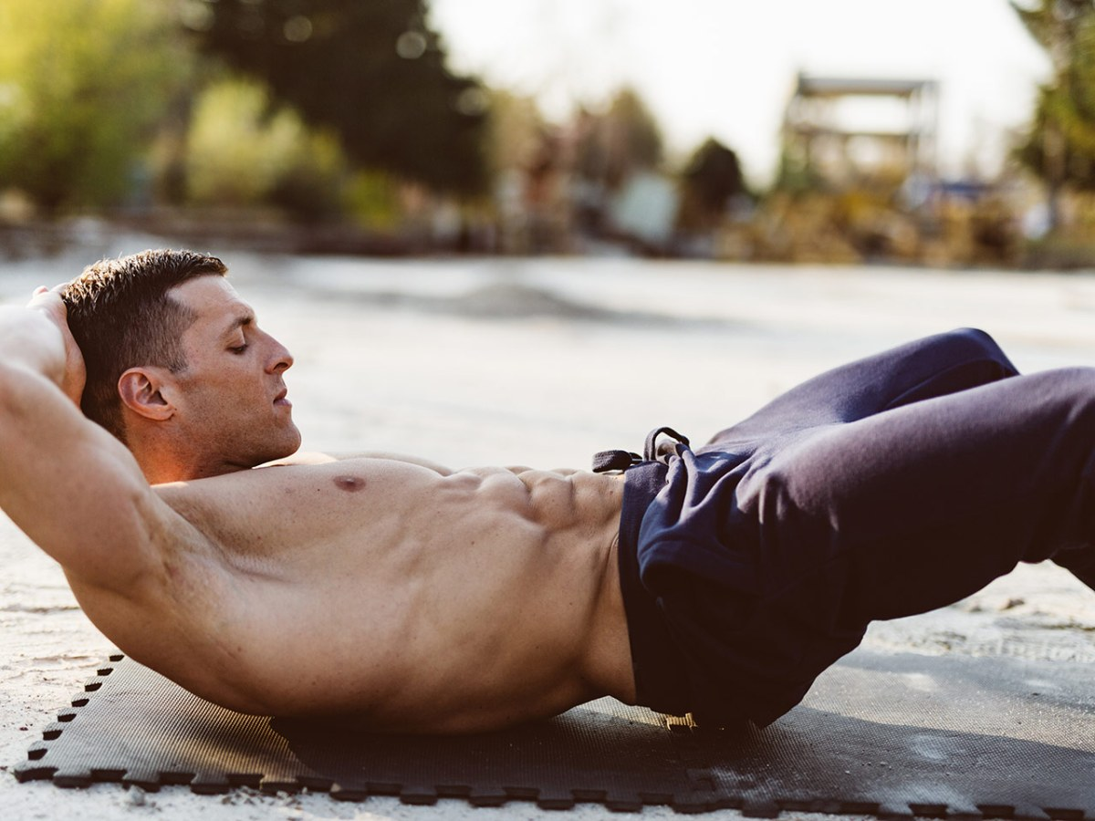 How to Uncover Your Six-Pack Without Any Equipment