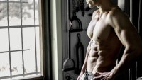 Man with Shredded Abs