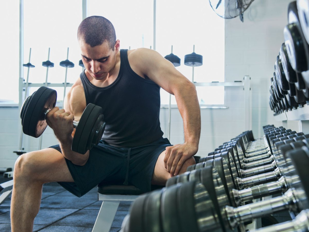 7 Amateur Arm Training Moves That Will Prevent Your Biceps From Growing