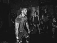 Barbell Crossfit Exercise
