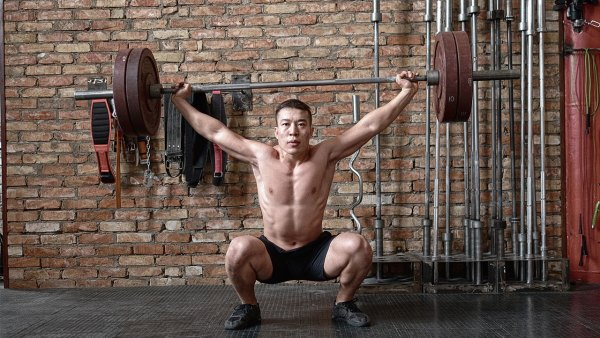 Barbell Squat Snatch