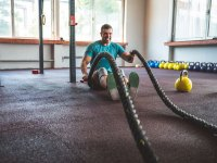 Battle Ropes Sitting