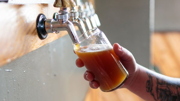 Beer Pour from Tap