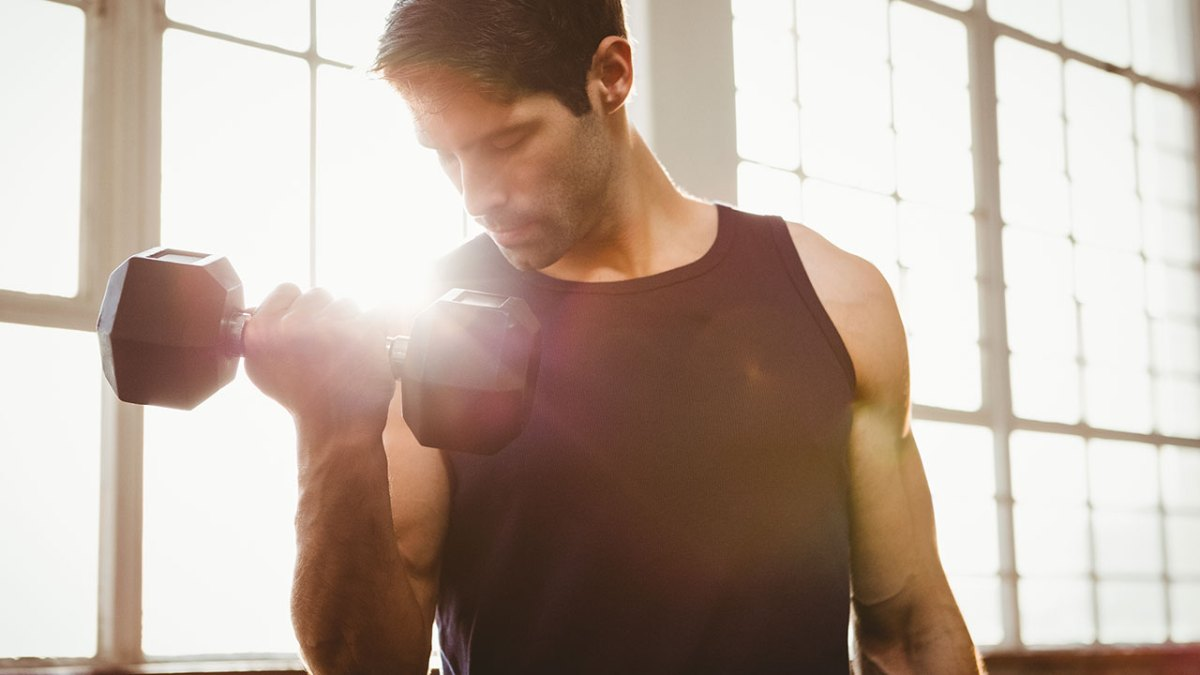 The 10 Best At Home Dumbbell Workouts Supersets More Circuit Cardio Workout Gym