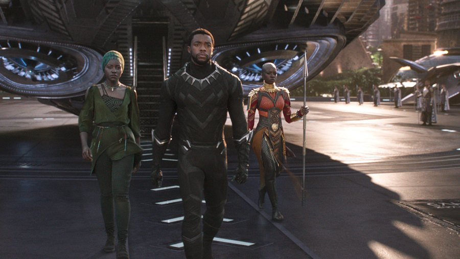 Chadwick Boseman and Michael B. Jordan Look Absolutely Ripped in Full 'Black Panther' Trailer