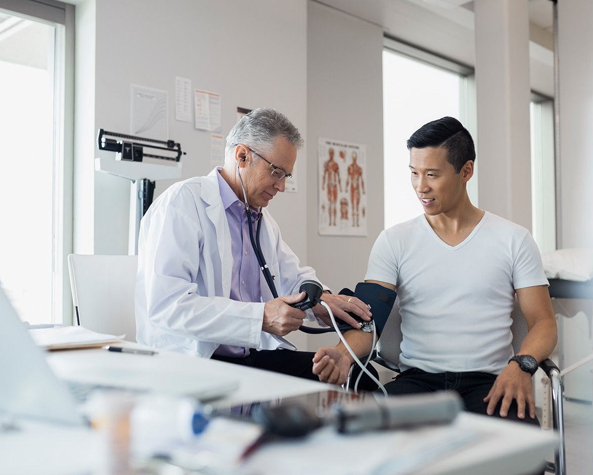 medical check ups every guy needs depending on your age