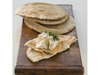 Pita Bread and Cheese