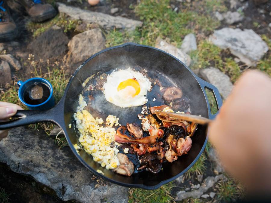6. If you can, eat only cooked foods