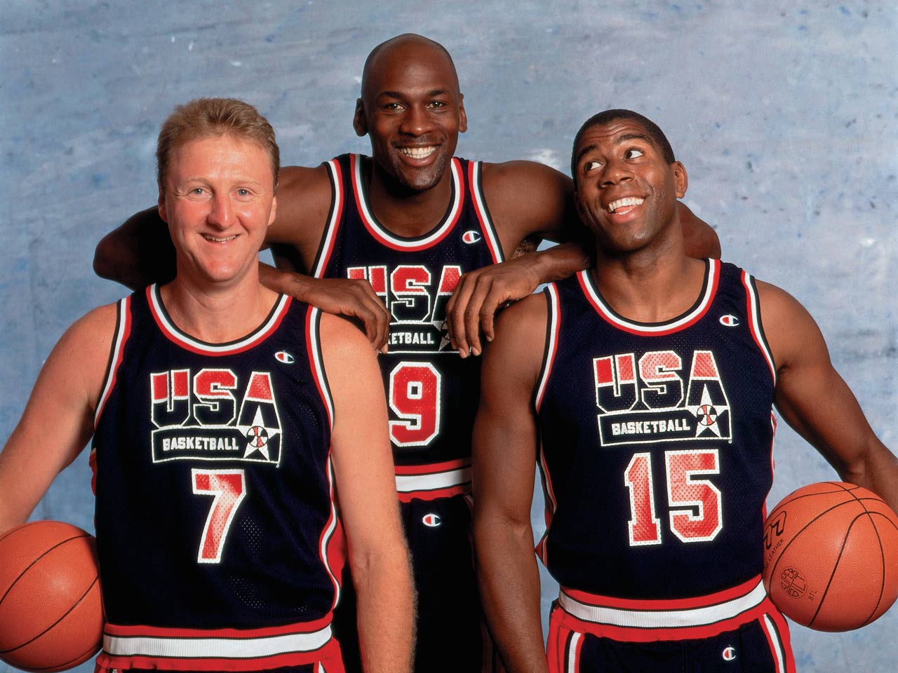 3a32b6bf52e Photos  The 1992 Olympic Dream Team s best moments