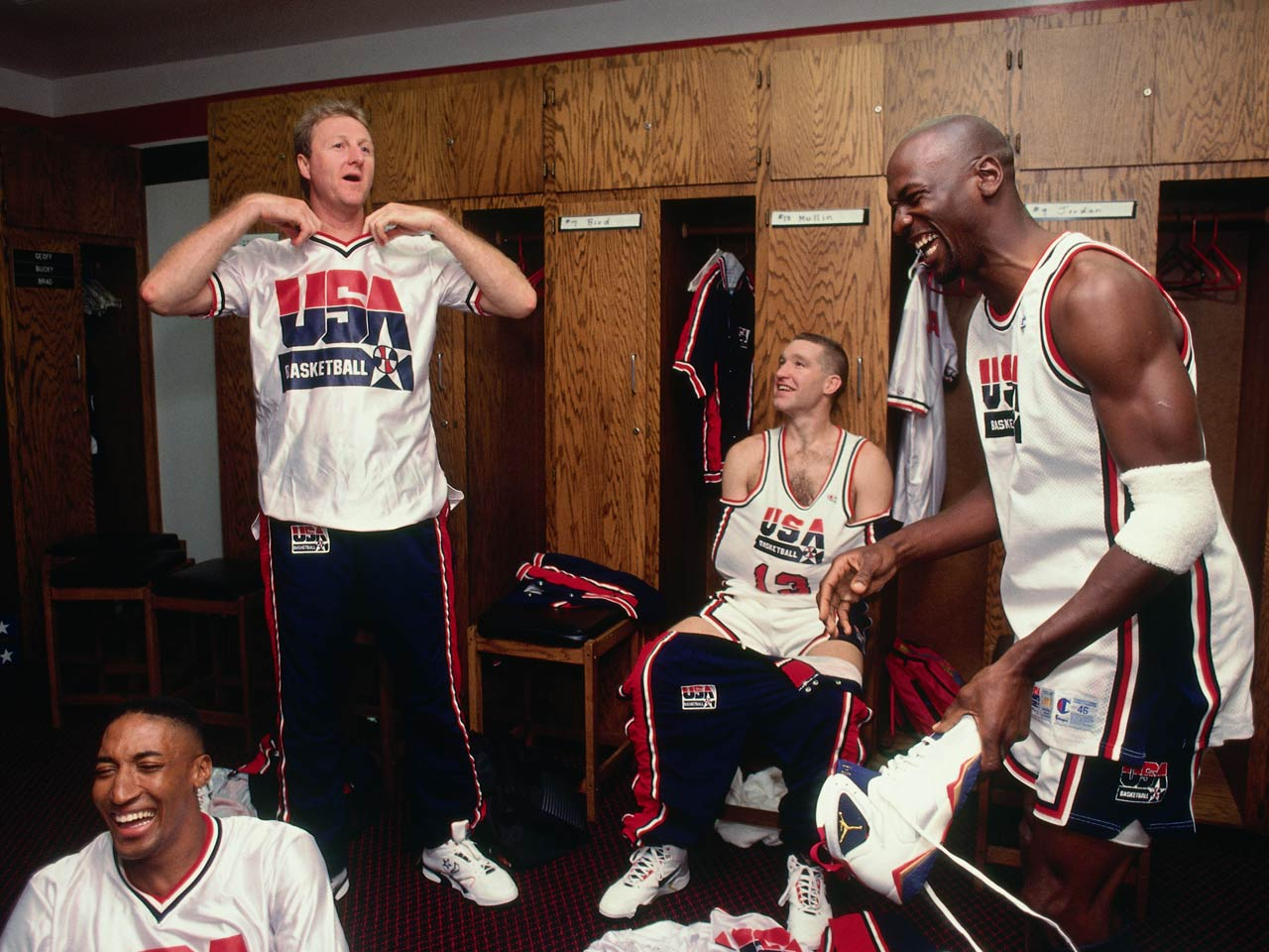 low priced 253f4 70fa2 Photos: The 1992 Olympic Dream Team's best moments