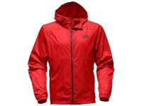 North Face Flyweight Hoodie Red