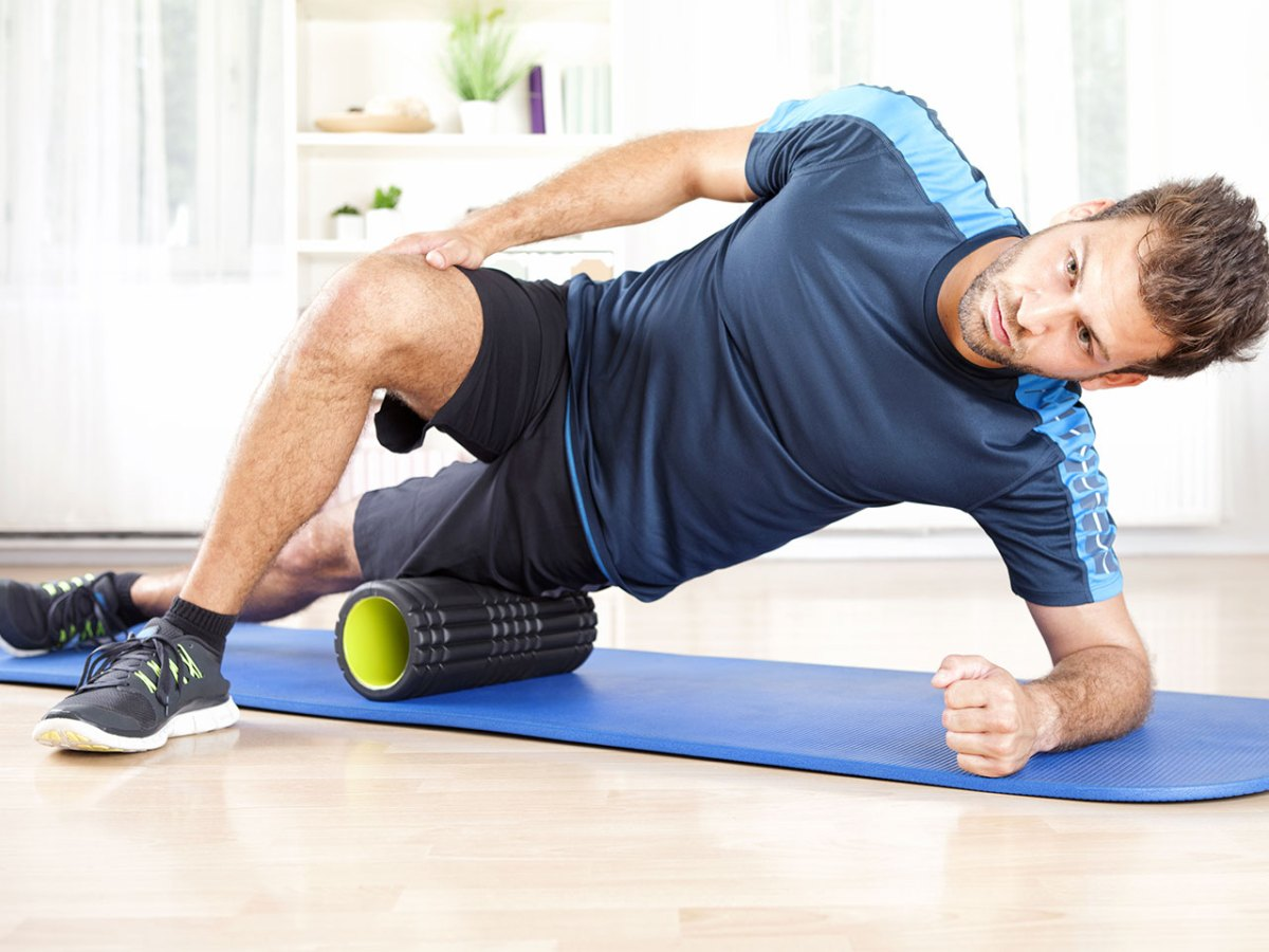 Why is foam rolling so important for fit guys?